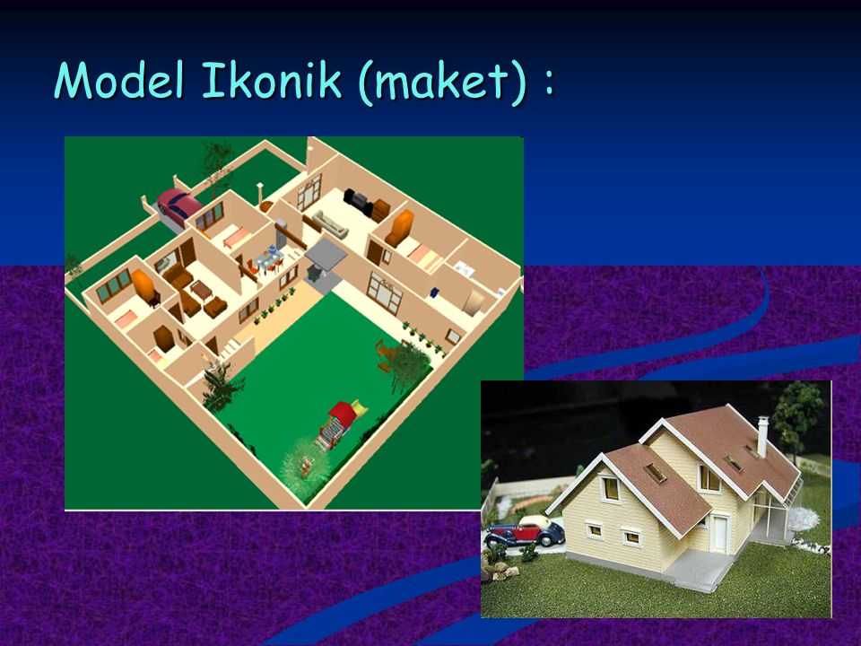 Model Ikonik (maket) :