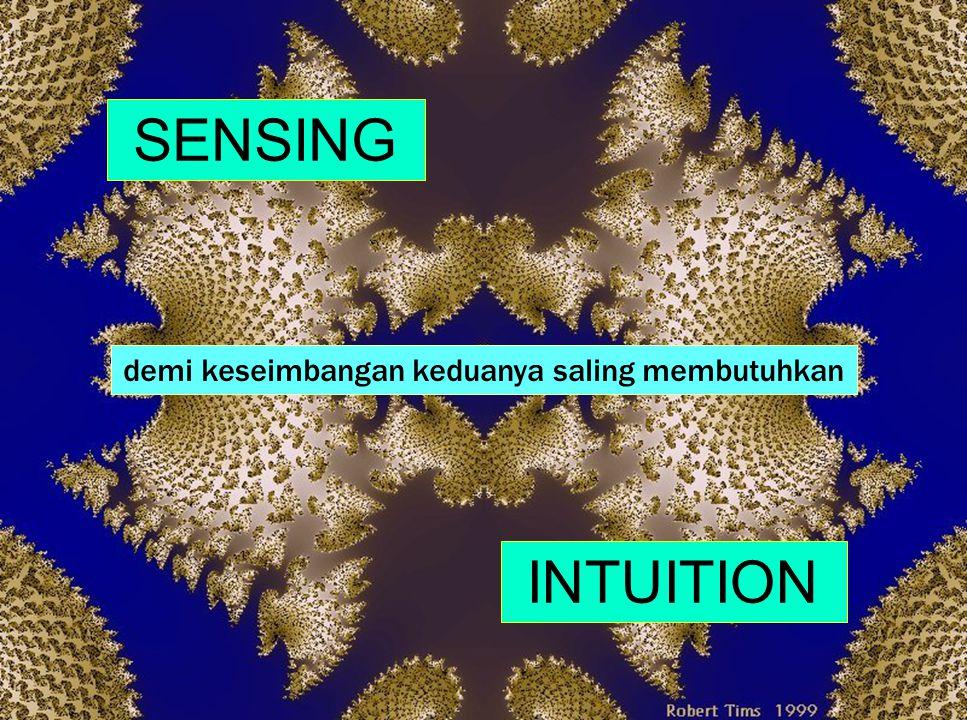 """36 i N t u i t i o n memusatkan pada """"gambaran umum"""" dan kemungkinan menghargai pemahaman imajinatif abstrak dan teoritis melihat pola dan makna dibal"""