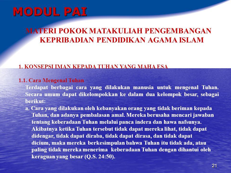 22 MODUL PAI b.