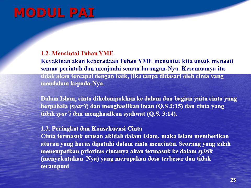 24 MODUL PAI 2.AKHLAK, IHSAN, ETIKA, DAN MORAL 2.1.