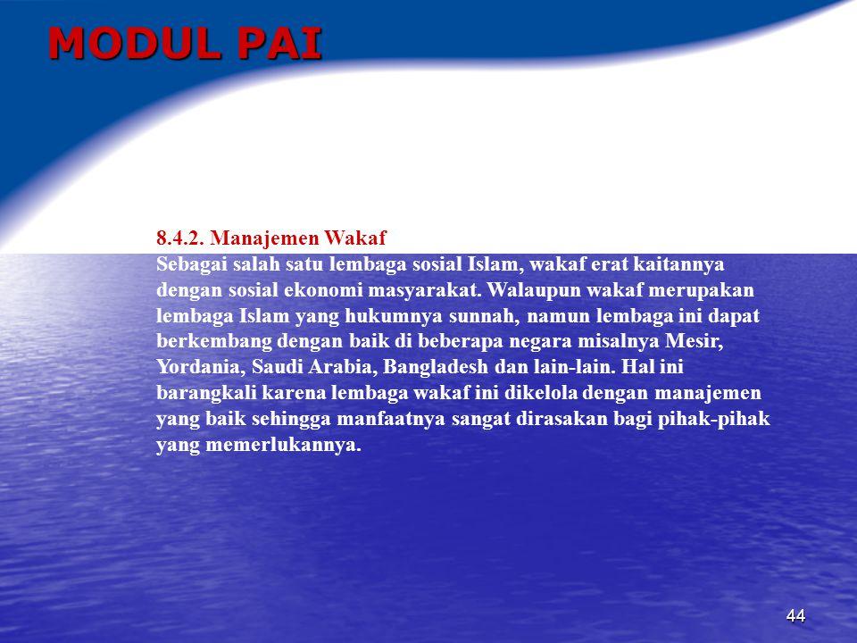 45 MODUL PAI 9.KERUKUNAN ANTAR UMAT BERAGAMA 9.1.