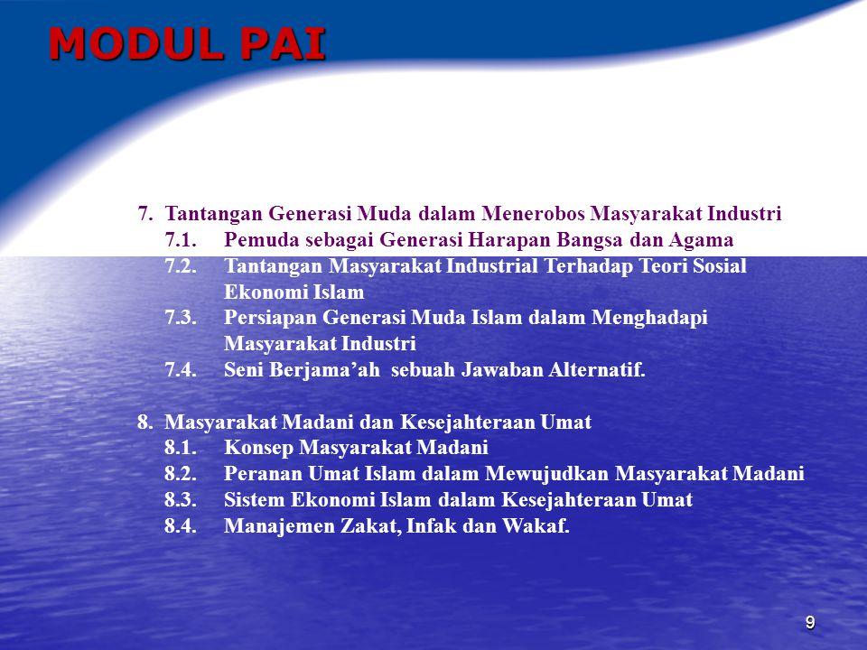 10 MODUL PAI 9.Kerukunan Antar Umat Beragama 9.1.