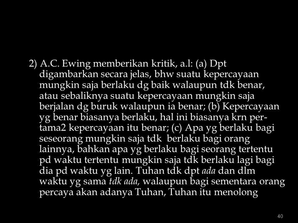 40 2) A.C.