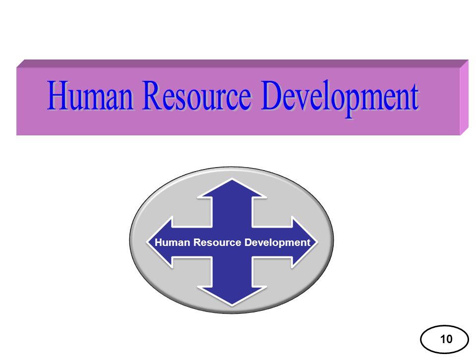 10 Human Resource Development