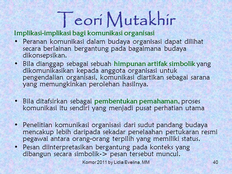 39 Teori Mutakhir F.