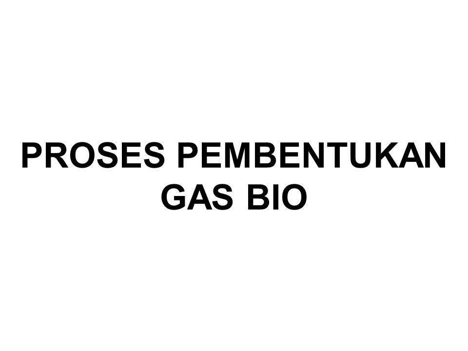 PROSES PEMBENTUKAN GAS BIO