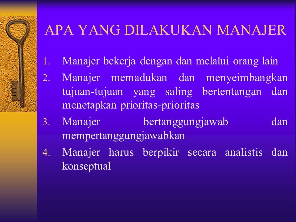 MANAJER FUNGSIONAL DAN UMUM 1. Manajer Fungsional Mempunyai tanggungjawab hanya atas satu kegiatan organisasi  produksi, pemasaran, personalia dan ke