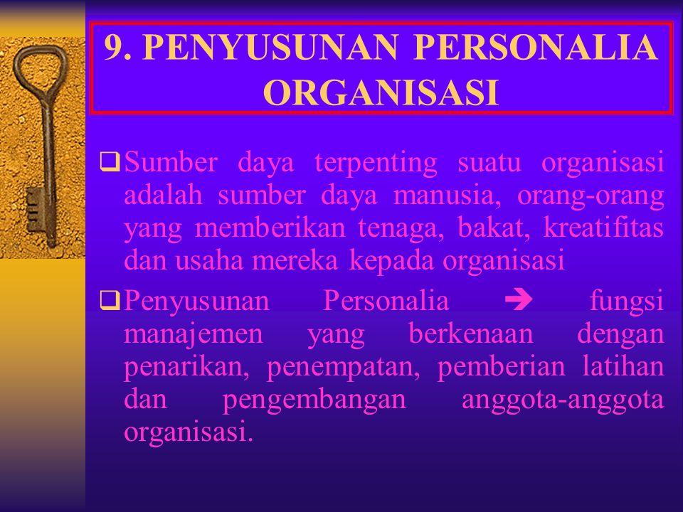 Pedoman Klasik untuk delegasi wewenang, yaitu : 1. Prinsip skalar  harus ada garis wewenang yang jelas 2. Prinsip kesatuan perintah  setiap bawahan