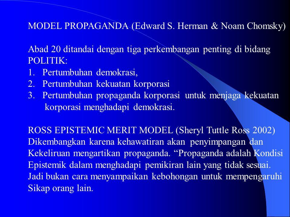 MODEL PROPAGANDA (Edward S.