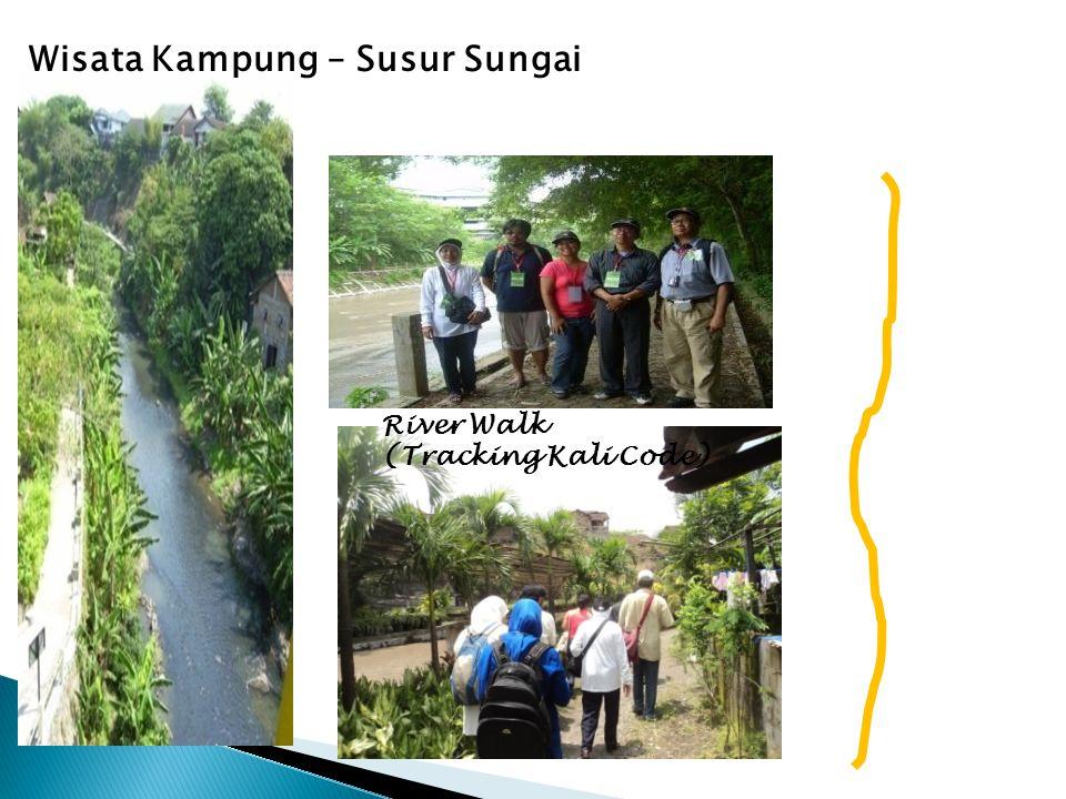 River Walk (Tracking Kali Code) Wisata Kampung – Susur Sungai