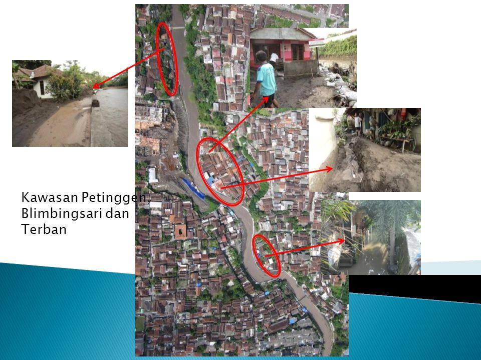 Kawasan Petinggen, Blimbingsari dan Terban