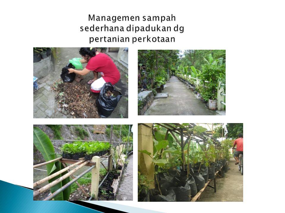 Usaha Air Bersih TIRTA KENCANA Kampung Jetisharjo (sejak 2001) 6 lt/dt 130 sambungan rumah Rp.1500/m3