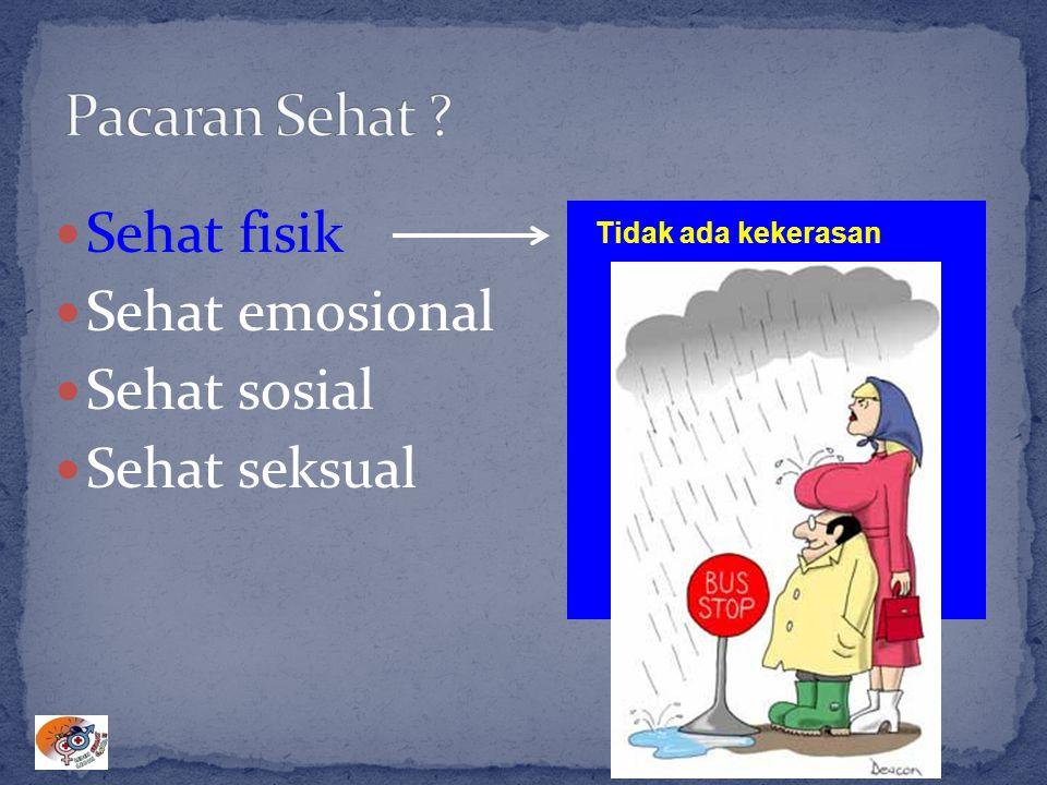 Sehat fisik Sehat emosional Sehat sosial Sehat seksual Tidak ada kekerasan