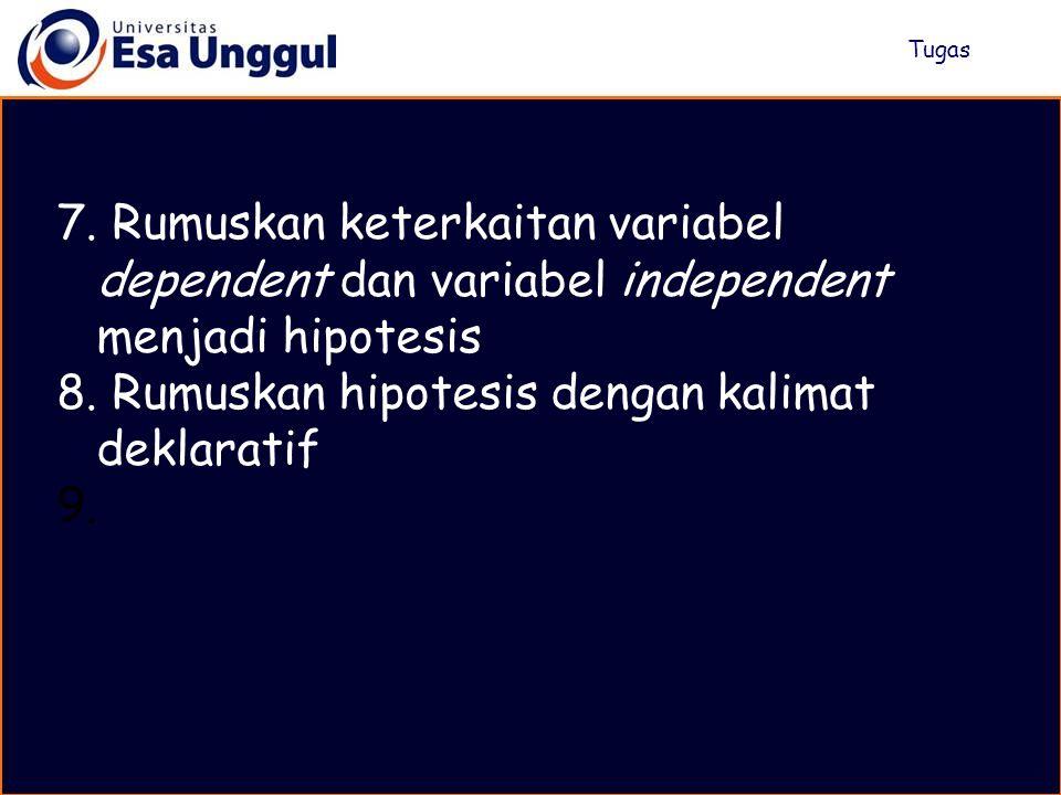 I.Masalah xxx xxx xxx II. Kerangka Teori A. xxxx (variabel dependent) xxx xxx xxx B.