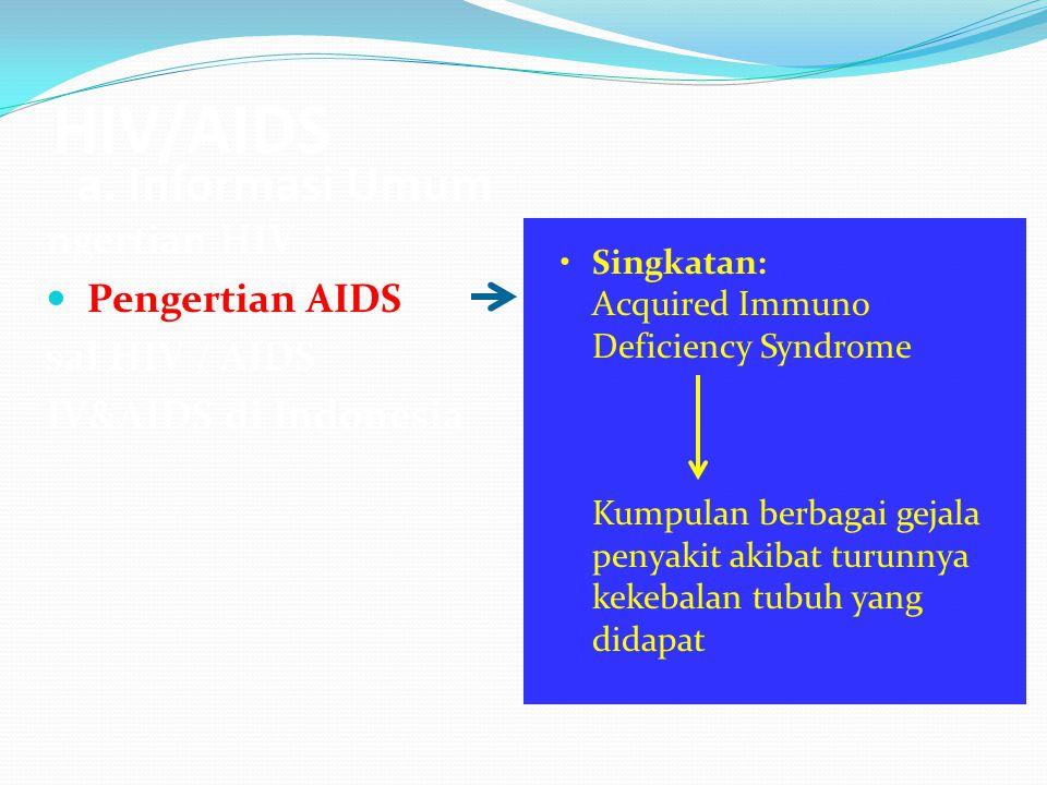 HIV/AIDS a.