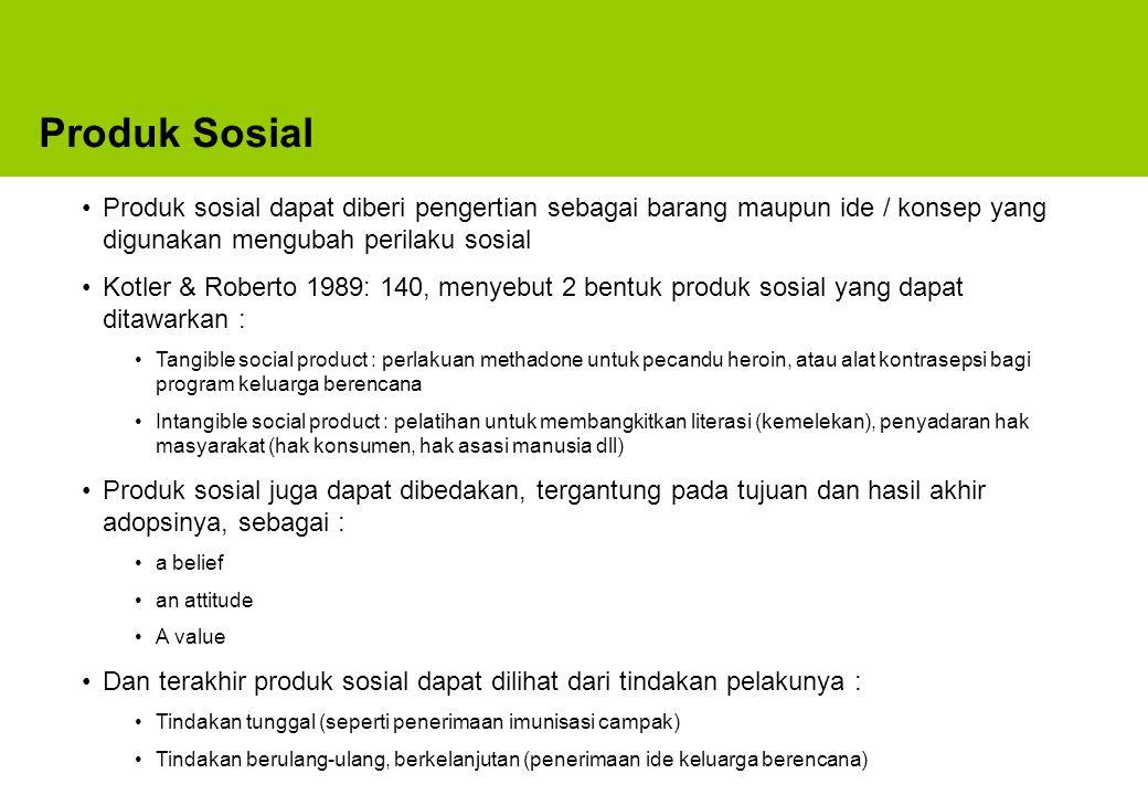 Evaluasi Program Pemasaran Sosial