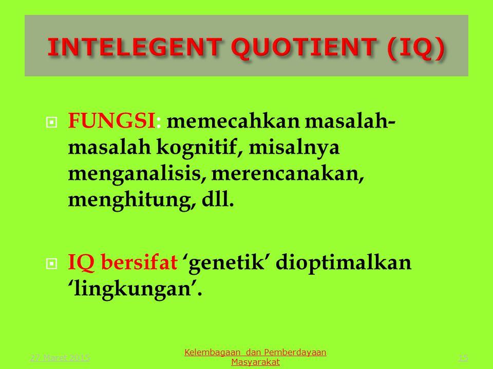 14 IQ EQ SQ Kelembagaan dan Pemberdayaan Masyarakat