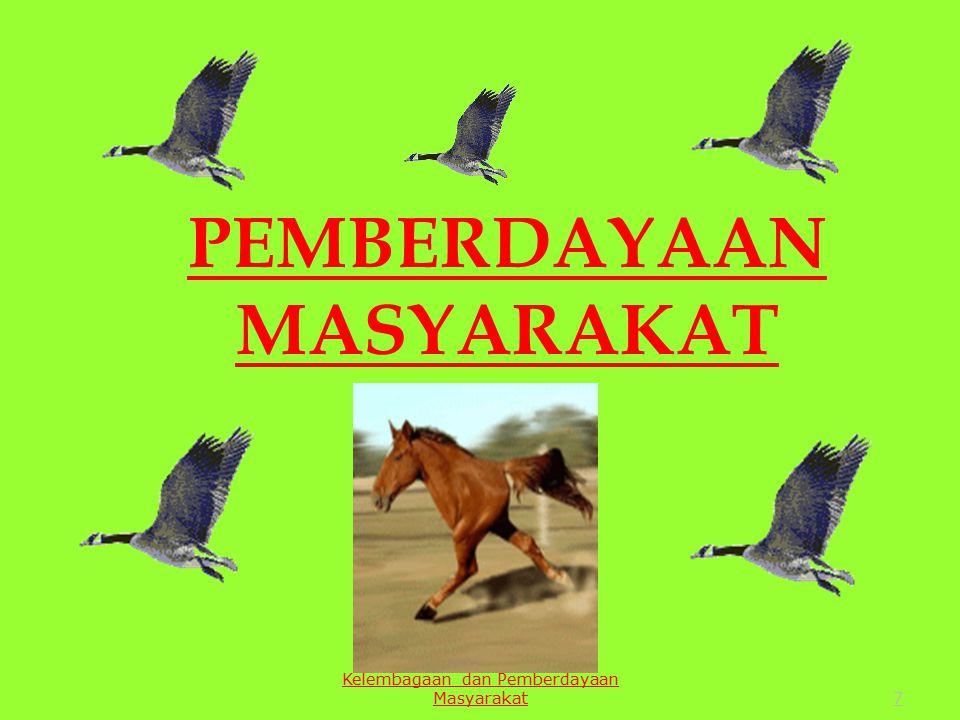 7 PEMBERDAYAAN MASYARAKAT