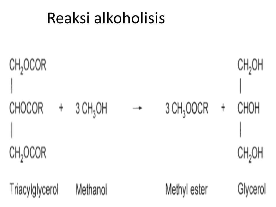 Reaksi alkoholisis