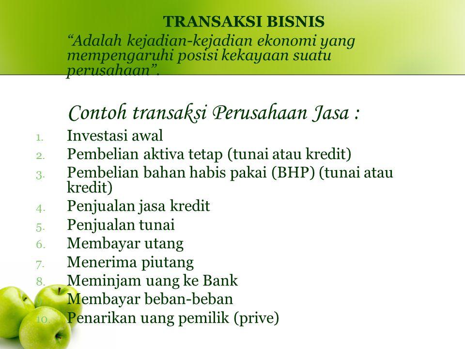 PERSAMAAN AKUNTANSI ASSETS (Aktiva): Kekayaan yang dimiliki perusahaan.