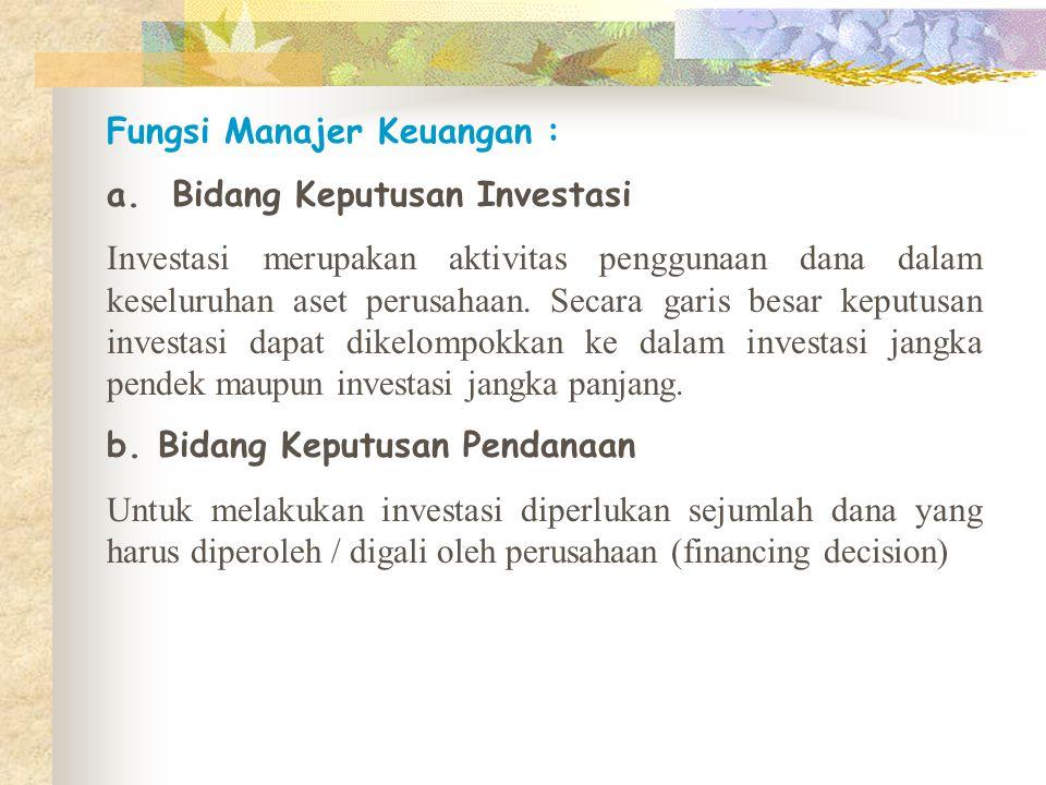 10 Aksioma Manajemen Keuangan: 1.Keseimbangan risk and return 2.