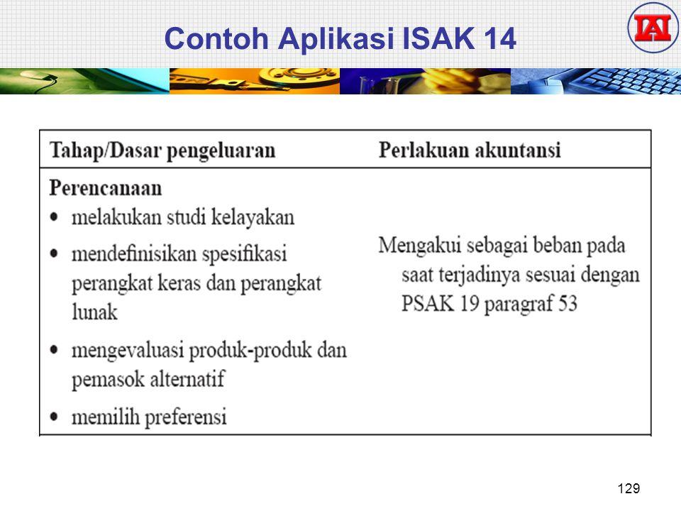 Contoh Aplikasi ISAK 14 129