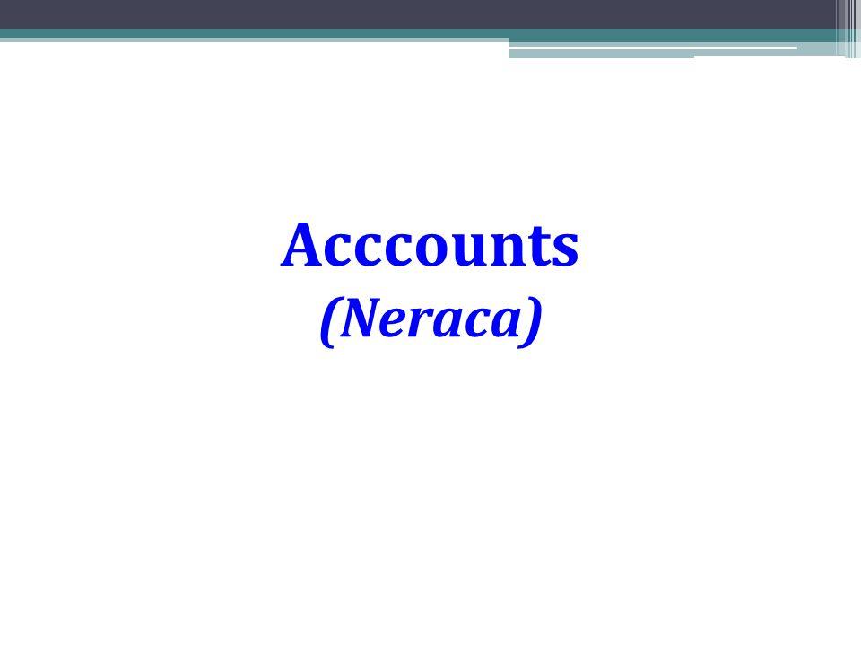 Acccounts (Neraca)