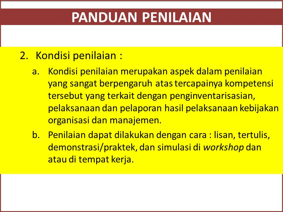 Pelaksanaan Kebijakan Organisasi dan Manajemen KJK secara Efisien c.Keputusan yang merupakan wewenang manajer KJK adalah menetapkan kebijakan tentang :  Bersama pengurus merumuskan syarat dan prosedur pinjaman.