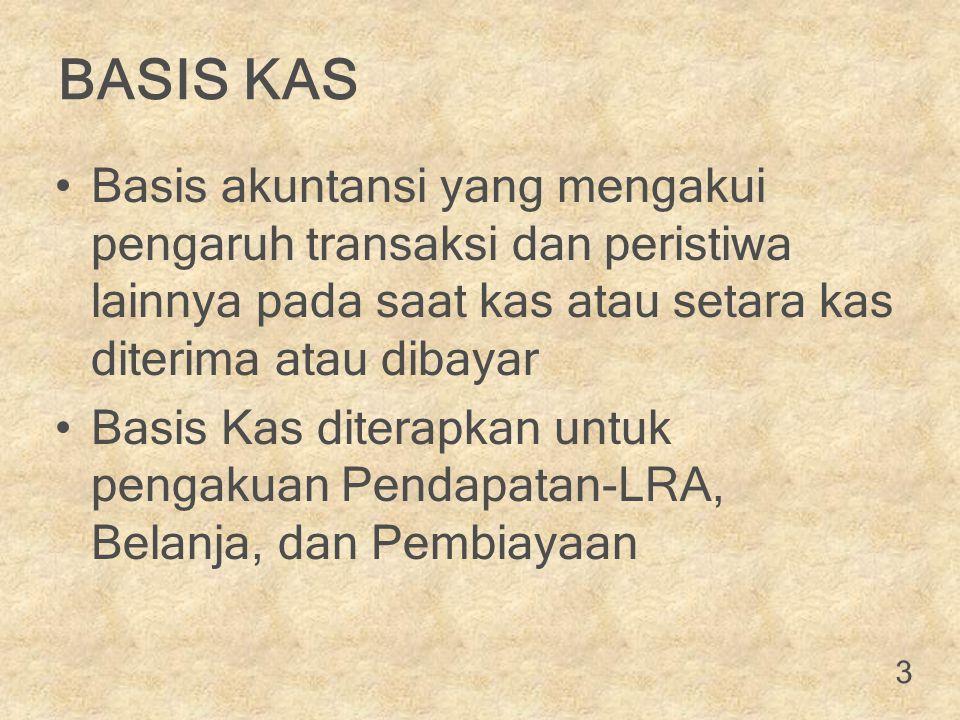 PENGAKUAN BEBAN Pengakuan Beban (Perwali Nomor 32 Tahun 2014 hal 206) dapat diakui sebagai berikut : o Saat Timbulnya Kewajiban, artinya beban diakui pada saat terjadinya peralihan hak dari pihak lain ke Pemerintah Kota Surabaya tanpa diikuti keluarnya Kas dari Kas Umum Daerah.