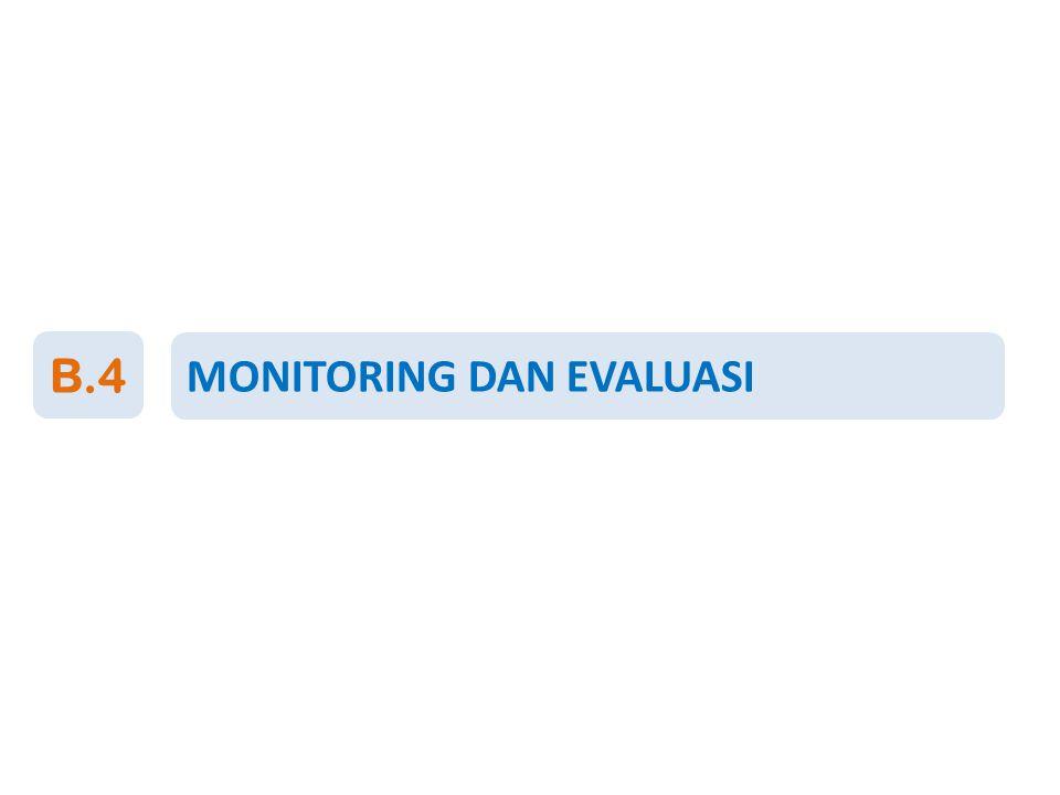 MONITORING DAN EVALUASI B.4