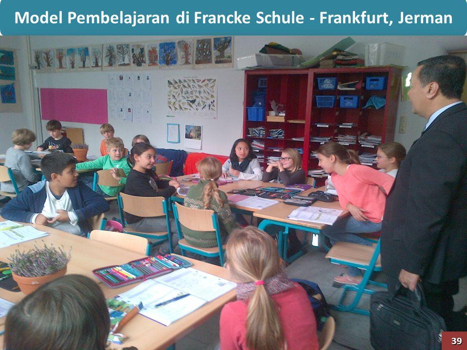 Model Pembelajaran di Francke Schule - Frankfurt, Jerman 39