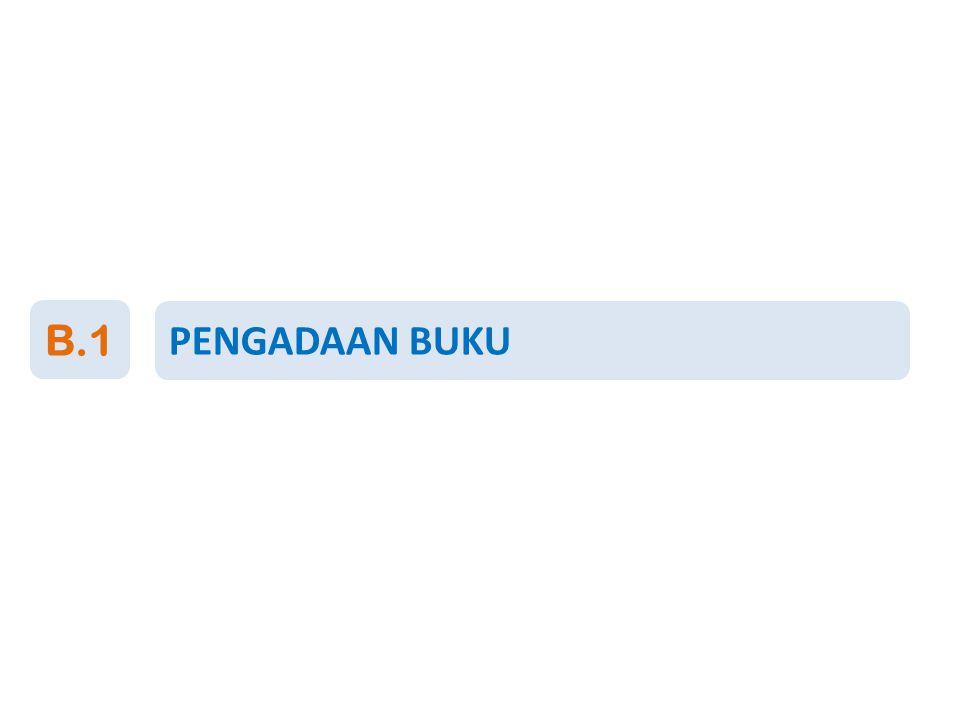 PENGADAAN BUKU B.1