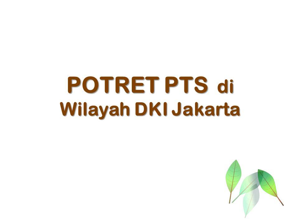 POTRET PTS di Wilayah DKI Jakarta