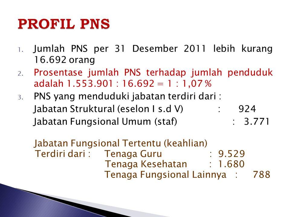 1.Penataan Struktur Birokrasi; 2. Penataan Jumlah, distribusi dan Kualitas PNS; 3.