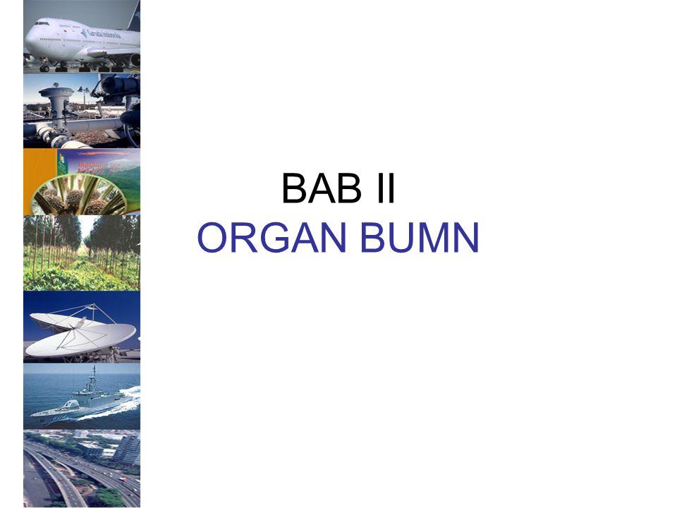 BAB II ORGAN BUMN