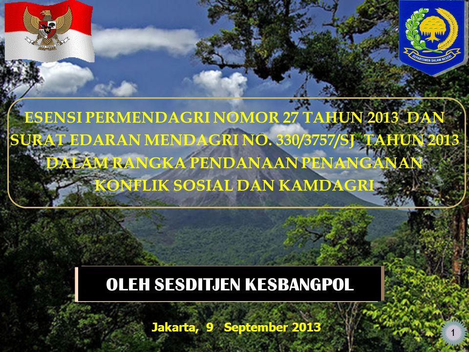 SASARAN UTAMA PEMB.NAS 2014 KEBIJAKAN PEMDA (PROV/KAB/KOTA) Incl.