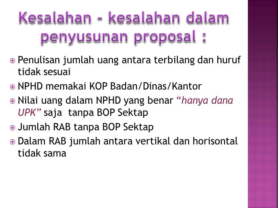 Rencana Anggaran Biaya Kegiatan Pengembangan USP, Sarana Prasarana RTM, Hibah Bergulir, SDM serta BOP Fotocopy SK Kepala Desa/Kelurahan tentang pengur