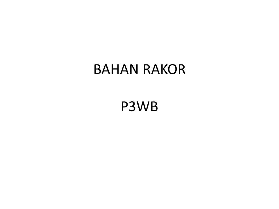 BAHAN RAKOR P3WB