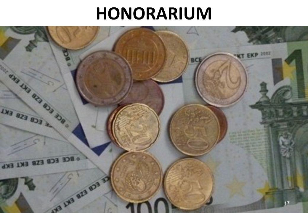 HONORARIUM 17