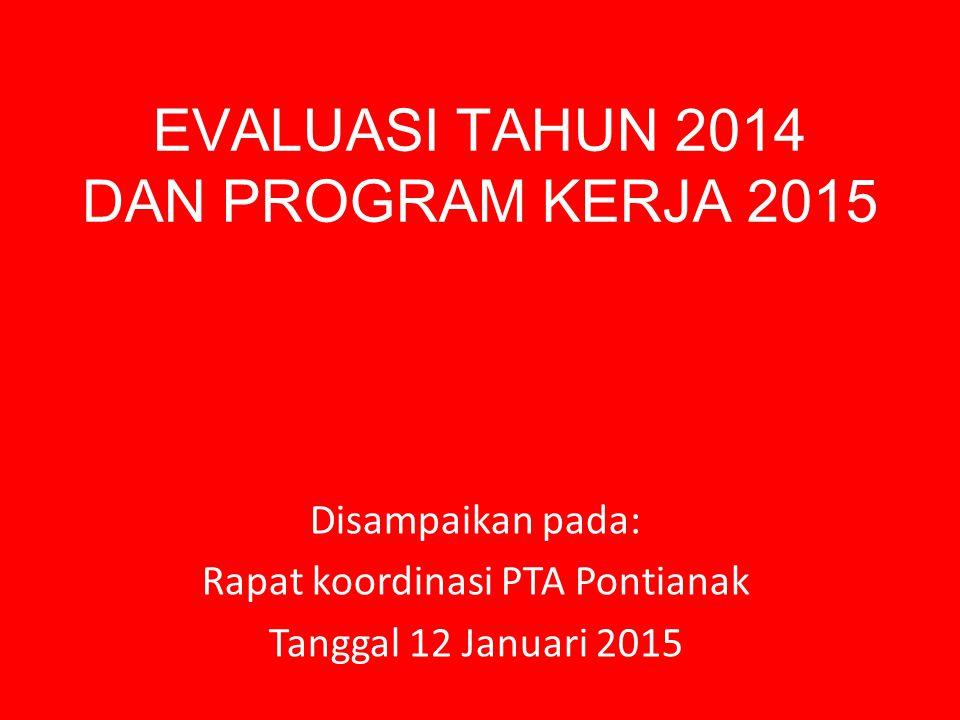 Program 2014 Kedisiplinan Peningkatan SDM Kenyamanan dalam bekerja Jemput bola Pembinaan dan pengawasanan Perlombaan dalam rangka 25 Tahun UUPA