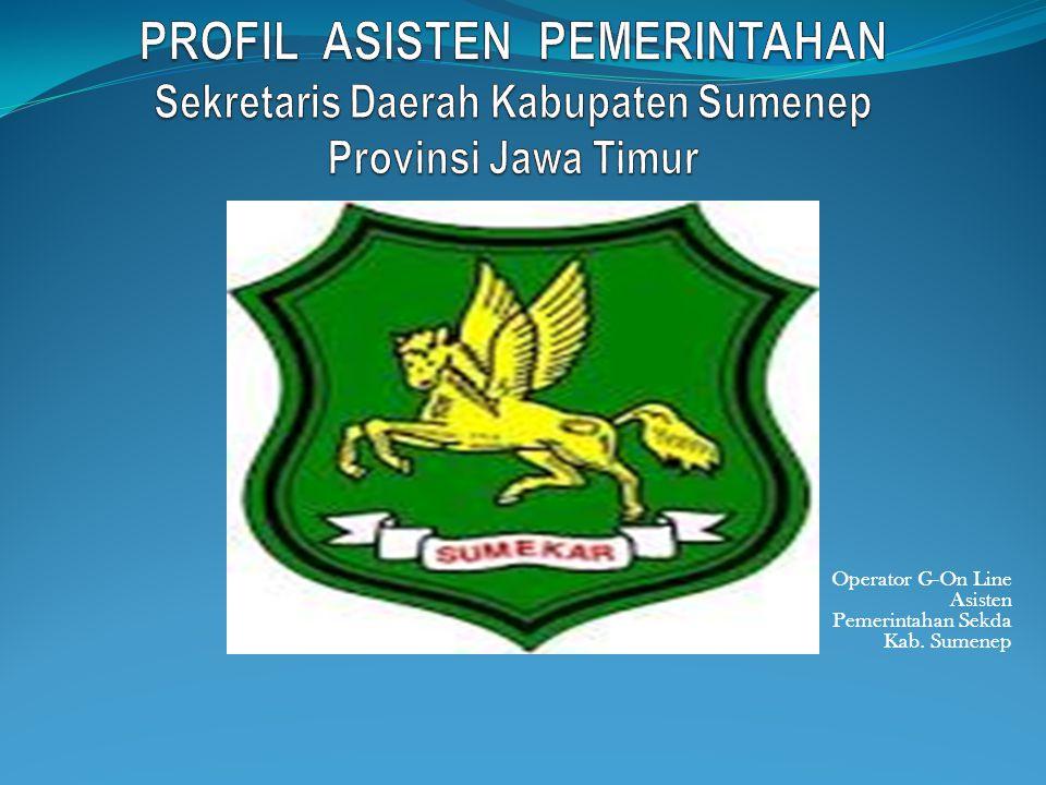 Nama Unit Kerja : Asisten Pemerintahan Sekretaris Daerah Kab.