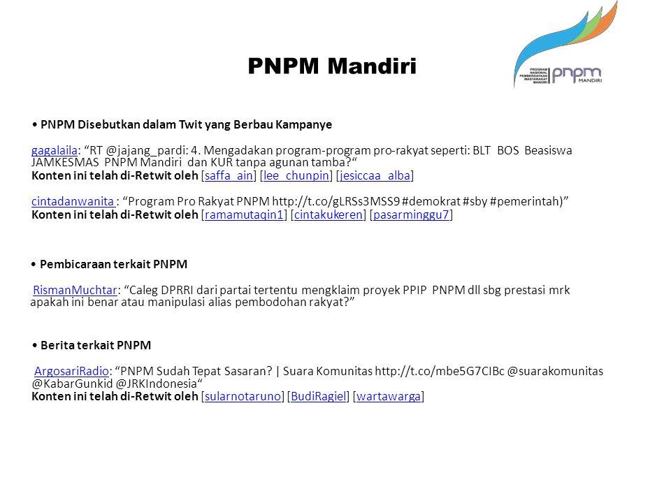 """PNPM Mandiri Pembicaraan terkait PNPM RismanMuchtar: """"Caleg DPRRI dari partai tertentu mengklaim proyek PPIP PNPM dll sbg prestasi mrk apakah ini bena"""