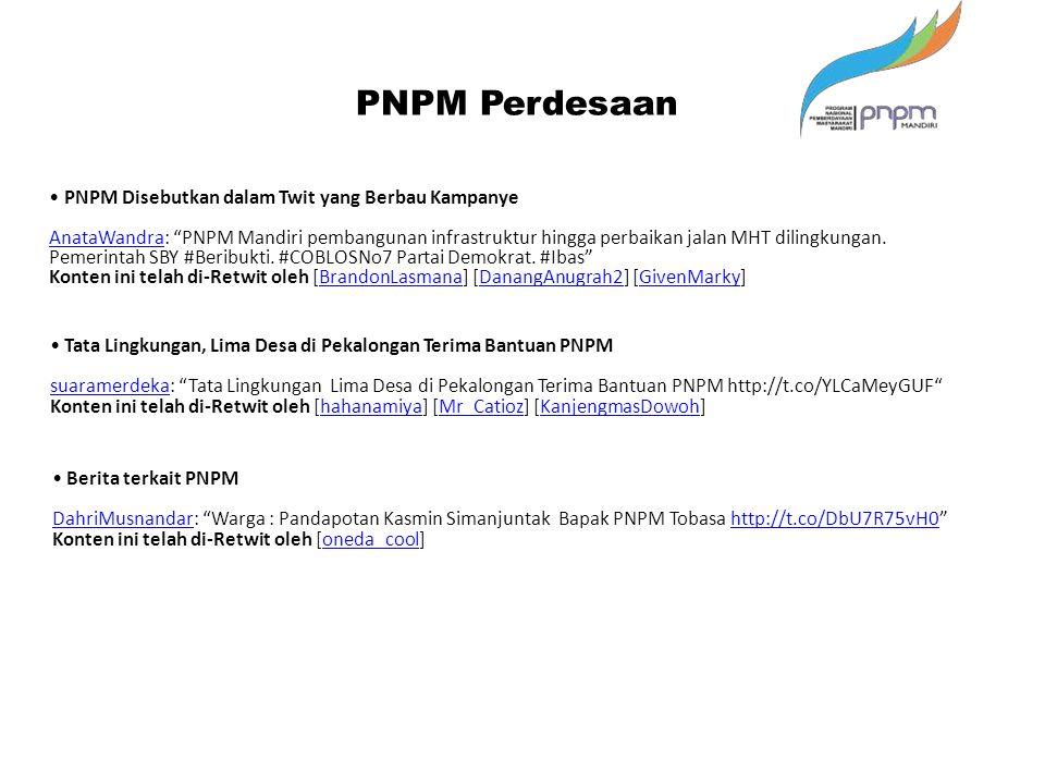 "Berita terkait PNPM DahriMusnandarDahriMusnandar: ""Warga : Pandapotan Kasmin Simanjuntak Bapak PNPM Tobasa http://t.co/DbU7R75vH0""http://t.co/DbU7R75v"