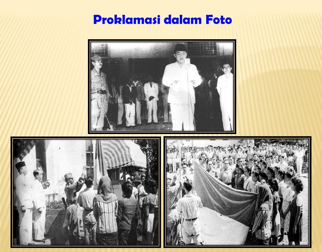 26 Proklamasi dalam Foto