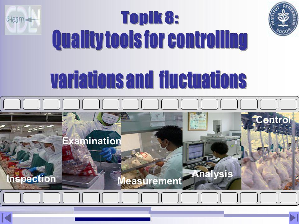 Inspection Examination Measurement Analysis Control
