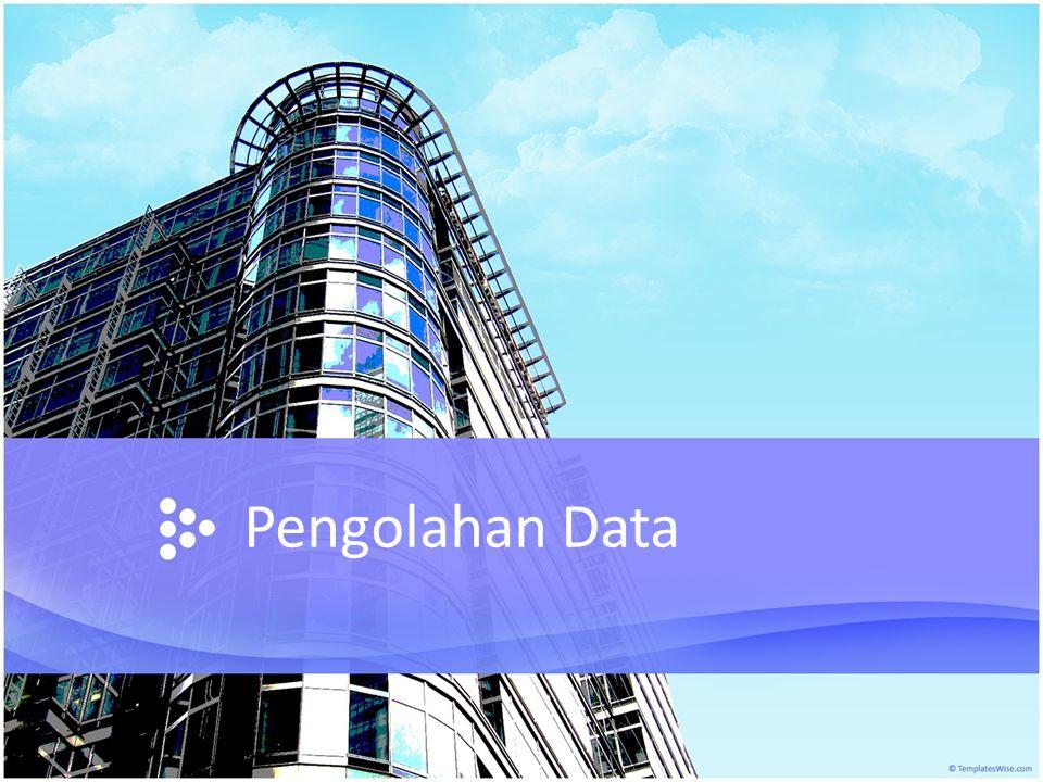 Analisis data deskriptif Analisis data secara deskriptif merupakan pengolahan data hasil penelitian dengan tujuan agar kumpulan data ini bermakna (meaningful).