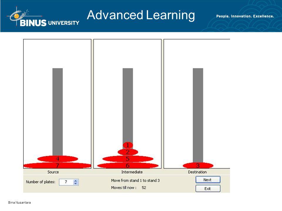 Bina Nusantara Advanced Learning
