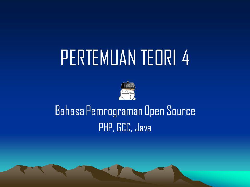 Bahasa Pemrograman Open Source : PHP Suraski dan Gutmans kemudian menulis ulang inti (core) PHP dan menemukan ZEND ENGINE pada tahun 1999.