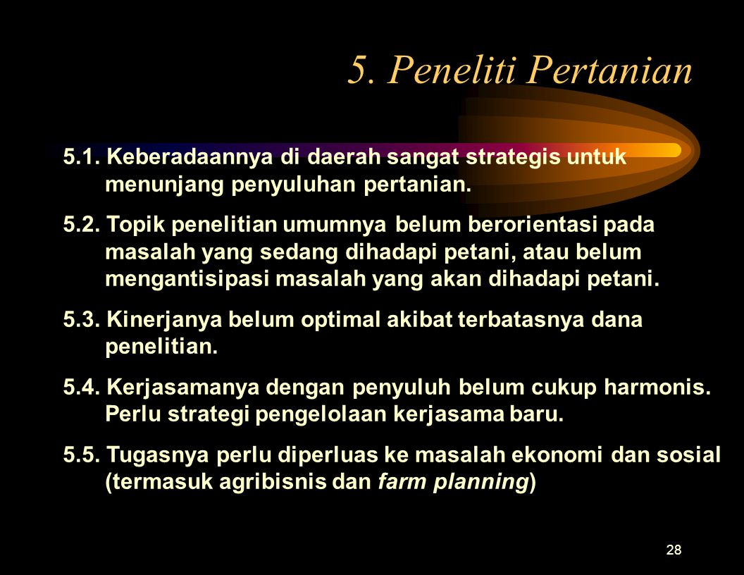 27 4.Penyuluh Pertanian 4.1.