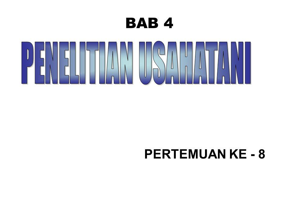 BAB 4 PERTEMUAN KE - 8
